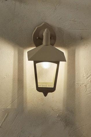 Metal Lantern Wall Light by Pacific