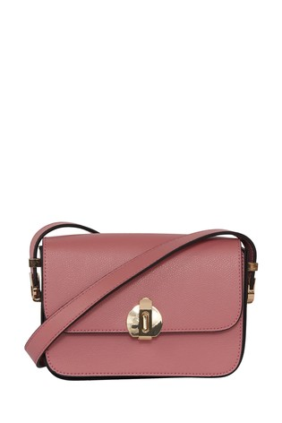 French Connection Brown Margot Mini Crossbody Bag