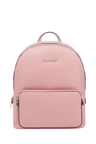 Calvin Klein Pink Campus Backpack