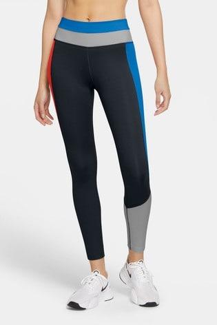 Nike One Colourblock 7/8 Leggings