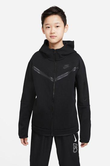 Nike Black Tech Fleece Hoodie