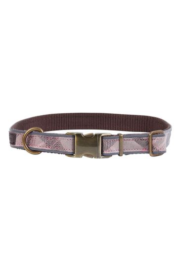 Barbour® Reflective Tartan Dog Collar