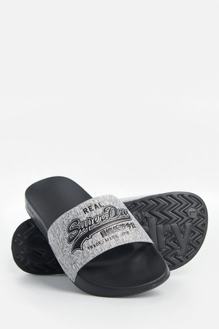 Superdry Vintage Logo Pool Sliders