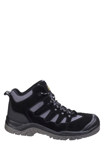 Amblers Safety Black AS251 Lightweight Safety Hiker Boots