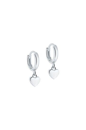 Ted Baker Harrie: Tiny Heart Huggie Earrings