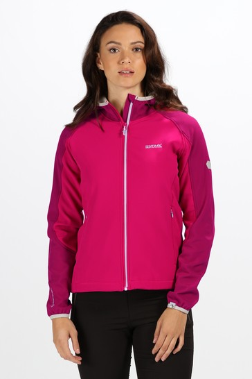 Regatta Pink Womens Arec II Softshell Jacket