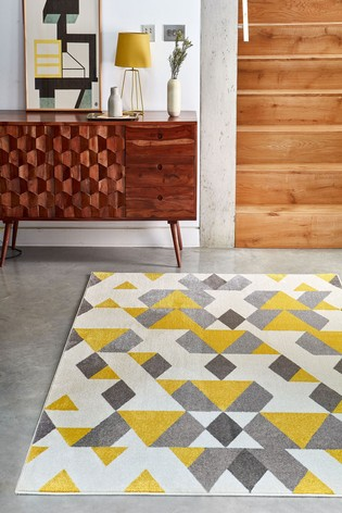 Asiatic Rugs Mustard Colt Pyramid Rug
