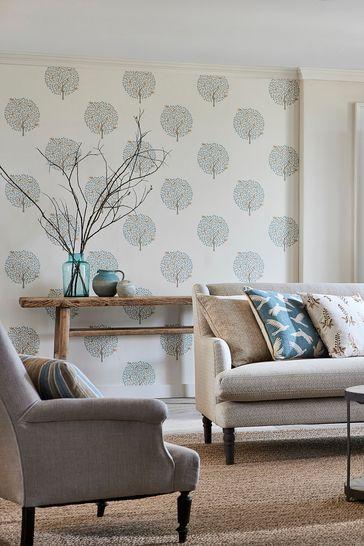 Sanderson Home Copper Bay Tree Wallpaper