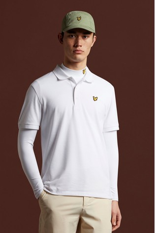 Lyle & Scott Golf Sleeve Logo Polo