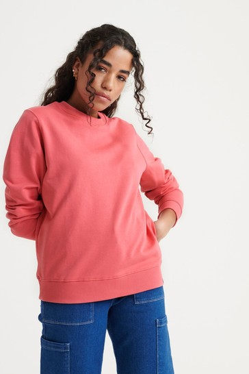 Superdry Organic Cotton Standard Label Loopback Sweatshirt