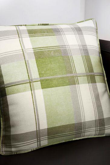 Balmoral Check Cushion by Fusion