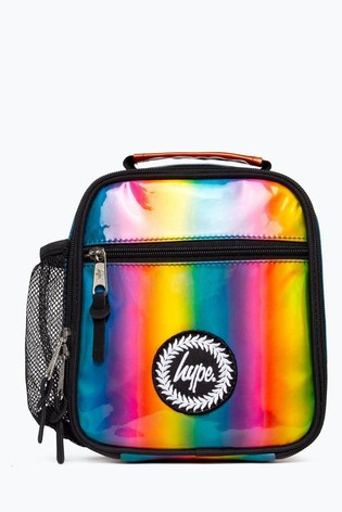 Hype. Rainbow Holographic Lunch Box