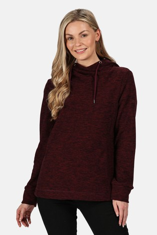 Regatta Purple Kizmit II Hooded Fleece