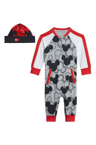 adidas Infant Grey Mickey Mouse™ All-In-One