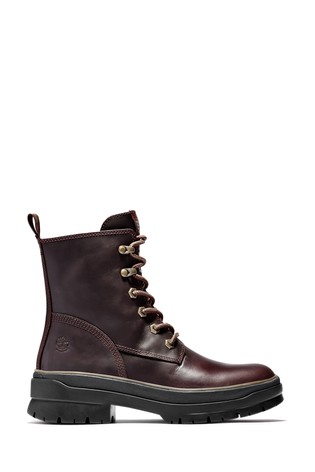Timberland® Malynn Mid Lace Up Leather Waterproof Boots