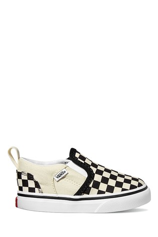Vans Infant Asher Checkerboard Trainers