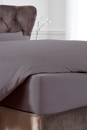 100% Cotton Sateen 300 Thread Count Collection Luxe Extra Deep Fitted Sheet