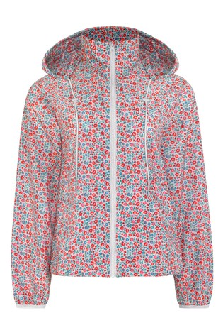 Cath Kidston® Cream Ashbourne Ditsy Short Raincoat
