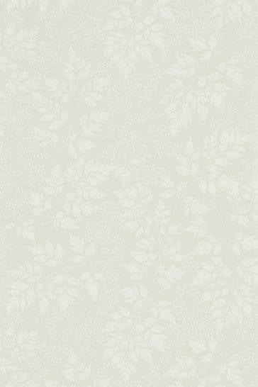Sanderson Home Grey Spring Leaves Wallpaper