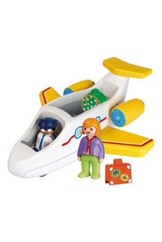 Playmobil® 70185 1.2.3 Airplane With Passenger