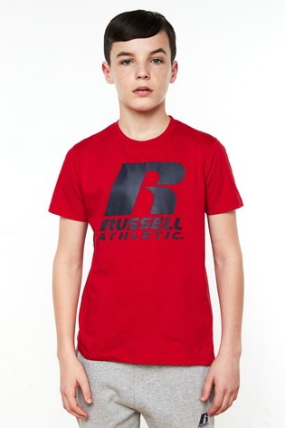 Russell Athletic Girls Logo T-Shirt