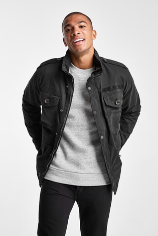 Superdry Black Field Jacket