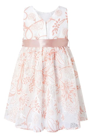 Monsoon Cream Baby Annie Ivory Lace Dress