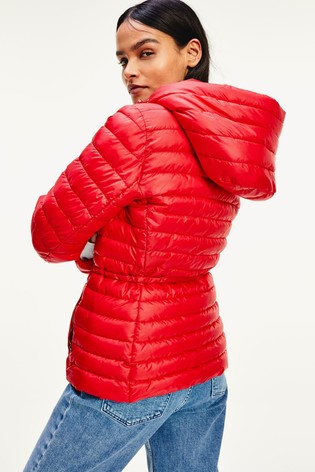Tommy Hilfiger Red Jade Lightweight Eco Fill Jacket