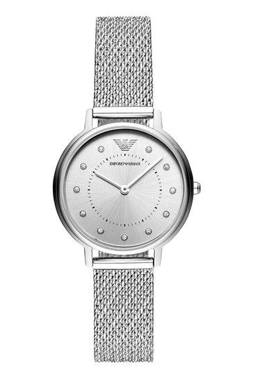 Emporio Armani Ladies Kappa Mesh Watch