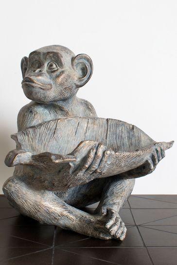Albert Monkey Sculpture by Gallery Direct