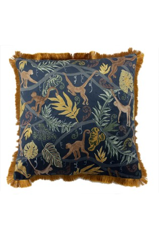Monkey Forest Cushion by Furn