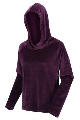 Regatta Kimberley Walsh Kelilah Velour Hooded Fleece