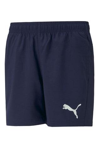 Puma Navy Woven Shorts
