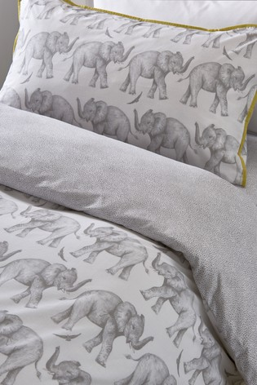 Sam Faiers Little Knightley's Elephant Trail Duvet Cover and Pillowcase Set
