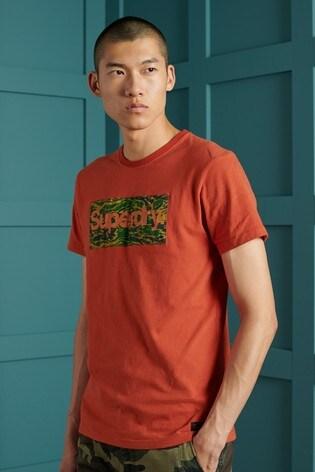 Superdry Core Logo Canvas T-Shirt