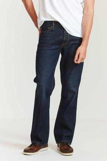 FatFace Denim Boot Cut Dark Vintage Wash Jeans