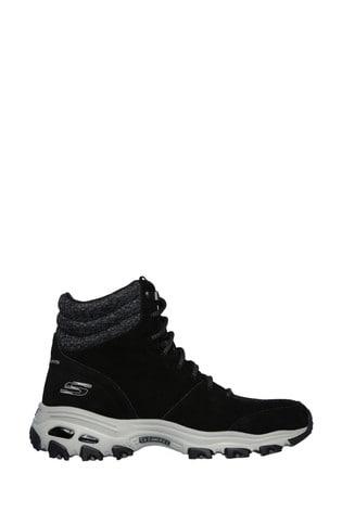 Skechers® Black D'Lites - Chill Flurry Trainers