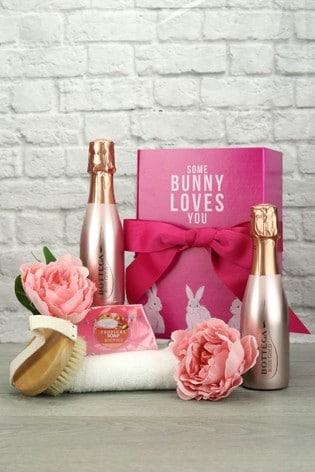Some Bunny Loves You Sparkling Rosé Spa Gift Set by Le Bon Vin