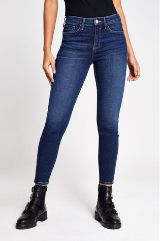 River Island Amelie Mid Rise Hayes Jeans