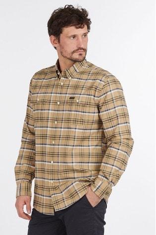 Barbour® Cream Barton Coolmax Shirt
