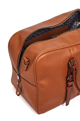 Ted Baker Waine Leather Holdall