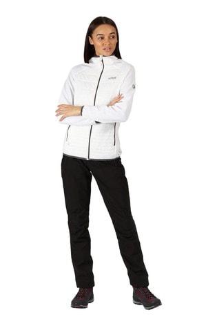 Regatta White Womens Andreson V Hybrid Baffle Jacket