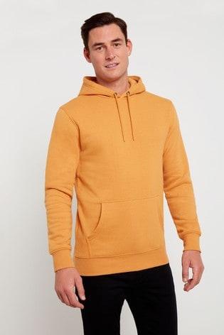 F&F Yellow Hoodie Sweater