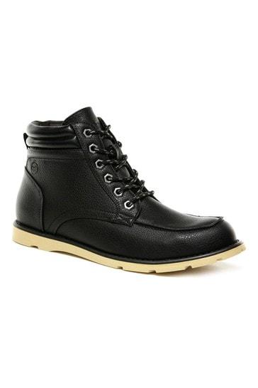 Regatta Black Robinson Lace-Up Boots