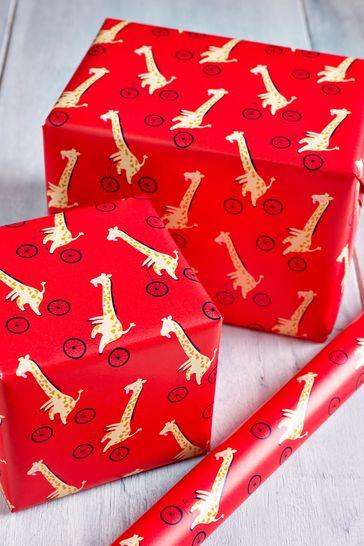 6M Giraffe Wrapping Paper