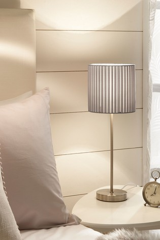 Village At Home Grey Wilson Table Lamp
