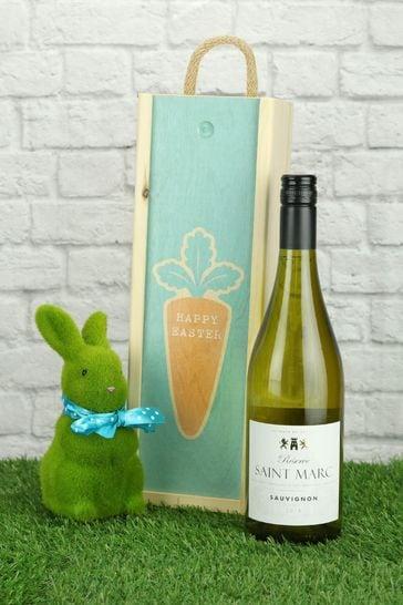 Happy Easter French Sauvignon Gift Set by Le Bon Vin