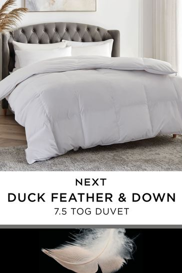 Duck Feather And Down 7.5 Tog Duvet