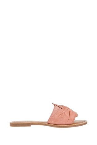 Accessorize Pink Perth Twist Sliders