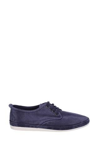Flossy Blue Raudo Slip-On Shoes
